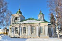教会正统芬兰的lappeenranta 免版税库存图片