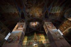 教会正统视图 免版税库存照片