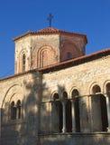 教会正统马其顿的ohrid 图库摄影