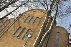 教会正统波兰 免版税图库摄影