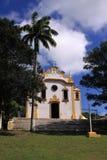 教会殖民地de福纳多noronha垂直 库存图片