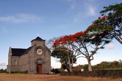 教会毛里求斯 免版税库存照片