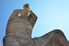 教会法兰克福德国保罗s雕塑st 库存图片