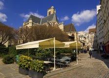 教会法国赫瓦希巴黎圣徒 免版税库存照片