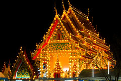 教会泰国 免版税库存图片