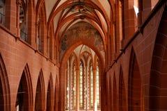 教会海得尔堡 图库摄影