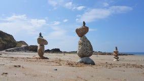 教会海湾小卵石堆2 图库摄影