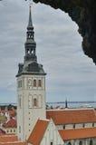 教会爱沙尼亚奥拉夫s st塔林 免版税图库摄影