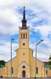 教会爱沙尼亚约翰s st塔林 免版税图库摄影