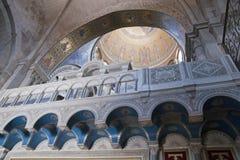 教会片段圣洁jerus坟墓 免版税库存图片