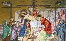 教会片段圣洁jerus坟墓 图库摄影