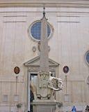 教会玛丽亚minerva圣诞老人sopra 免版税图库摄影