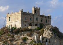 教会玛丽亚s tropea 免版税库存图片