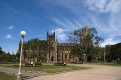 教会玛丽s st 免版税库存照片
