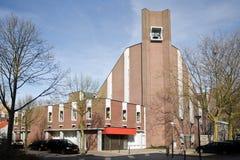 教会现代安排崇拜 库存图片