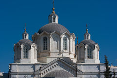 教会现场以色列耶路撒冷俄语 库存图片