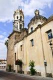 教会瓜达拉哈拉jalisco墨西哥 免版税图库摄影