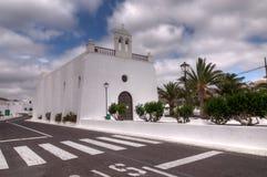 教会白色 免版税库存图片