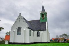教会白色 库存图片