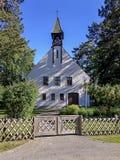 教会白色 免版税库存照片
