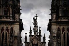 教会的上面 图库摄影