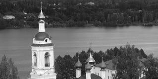 教会的全景 库存图片