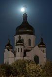 教会的十字架 免版税库存图片