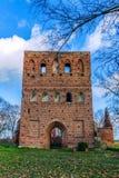 教会的哥特式废墟 库存图片