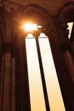 教会的哥特式视窗 库存图片