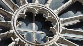 教会的圆的窗口 影视素材