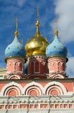 教会的圆顶在克里姆林宫 免版税库存照片