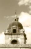 教会的圆顶,古板的乌贼属颜色 库存照片