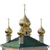教会的圆顶 免版税库存图片