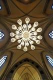 教会的天花板 免版税库存图片