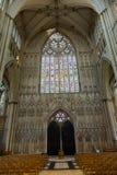 教会的教堂中殿 库存图片