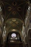 教会的艺术性的天花板 免版税库存图片