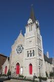 教会社区石头 免版税库存图片