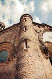 教会神圣的Heart.Tibidabo。巴塞罗那。 免版税图库摄影