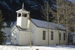 教会科罗拉多 免版税图库摄影