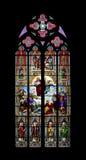 教会科隆香水视窗 免版税库存图片