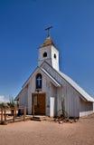 教会空白的一点 免版税库存照片