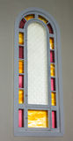 教会窗口 免版税图库摄影