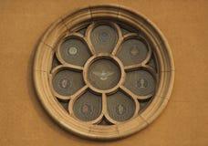 教会窗口 免版税库存照片