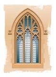 教会窗口 皇族释放例证