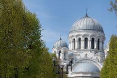 教会立陶宛迈克尔st 免版税库存照片