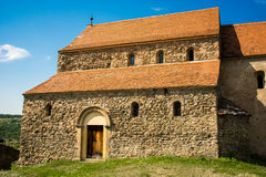 教会筑了堡垒于 库存照片