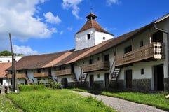 教会筑了堡垒于harman 免版税库存图片