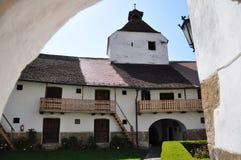 教会筑堡垒于的harman 免版税图库摄影