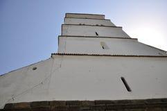 教会筑堡垒于的harman 免版税库存图片