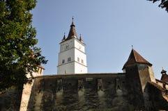 教会筑堡垒于的harman 库存照片